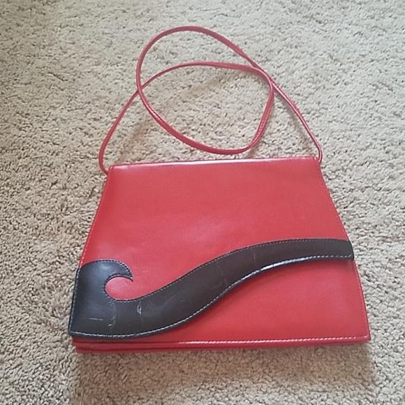 Red Wave Hanbag/Purse